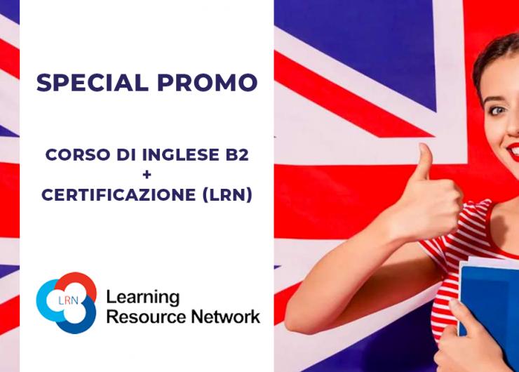 Corso di Inglese B2 + Certificazione (LRN)